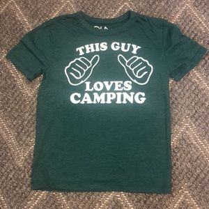"CHASER Brand ""this guy loves camping"" tee 🏕"